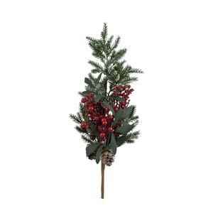 Dekorativní vánoční větev s bobulemi, střední