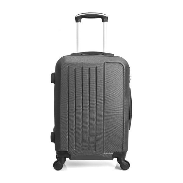 Ciemnoszara walizka na kółkach Hero Maroko, 60 l