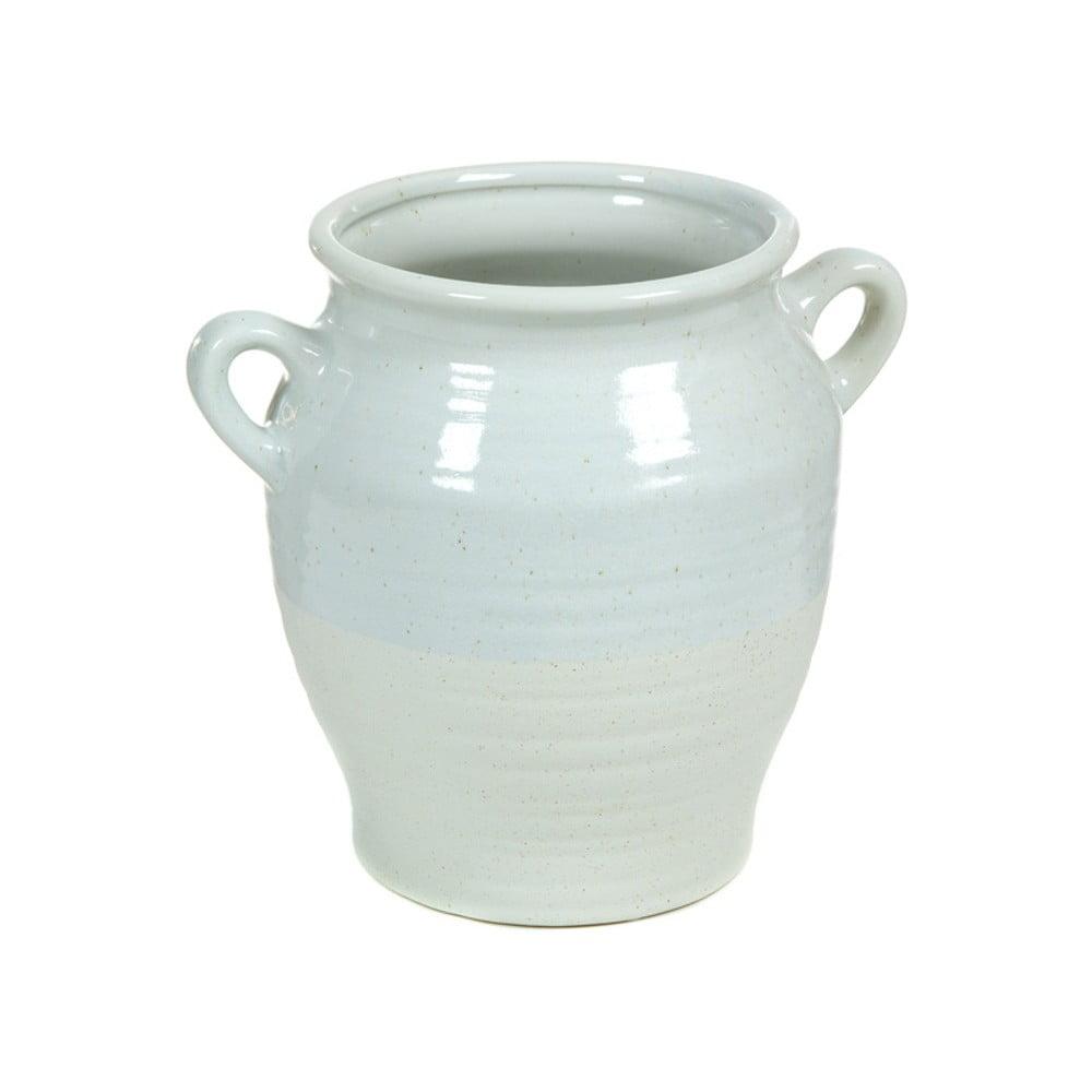 Mentolově zelená keramická váza Santiago Pons Bourg