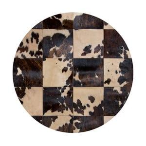 Kožený koberec Pipsa Blidecco, ⌀150cm