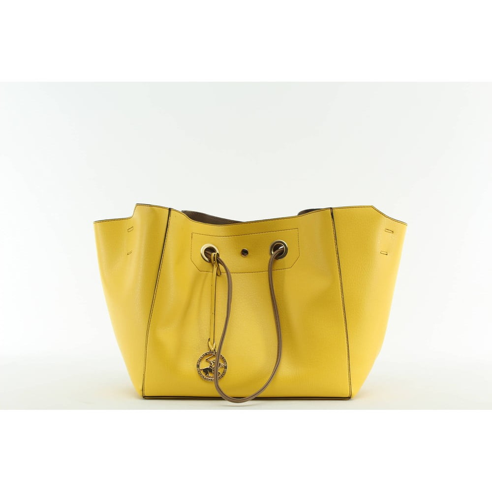 28a6353e10 Kabelka Beverly Hills Polo Club 01 - Yellow Mink ...
