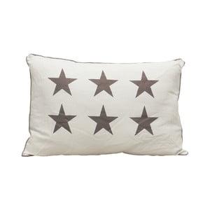 Polštář Grey Stars, 60x40 cm