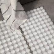 Protiskluzová koupelnová podložka Le Bolle, bílá