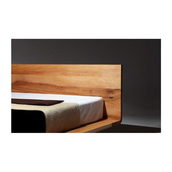 Postel z olejovaného olšového dřeva Mazzivo Mood, 140x210cm