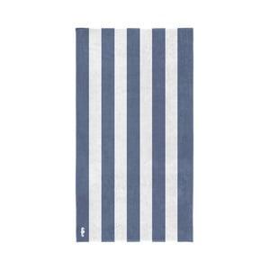 Modro-bílá bavlněná osuška Seahorse Vamos, 180x100cm