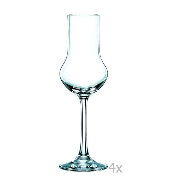Sada 4 sklenic z křišťálového skla Nachtmann Vivendi Premium Stemmed Spirit Set, 109 ml