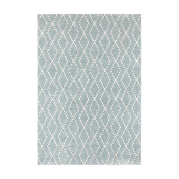 Modro-šedý koberec Elle Decor Euphoria Rouen, 160 x 230 cm