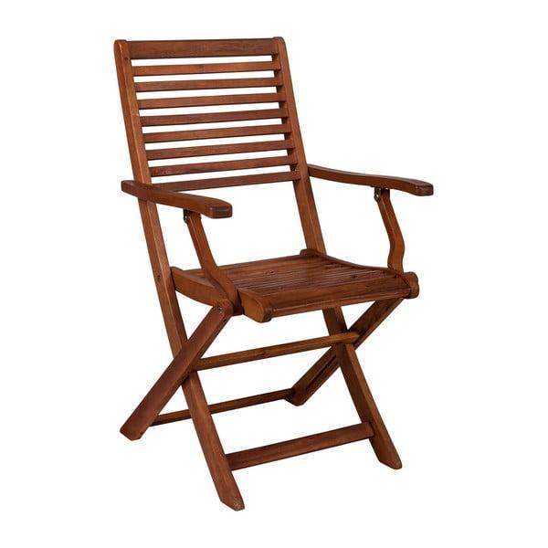 Scaun din lemn de salcâm Crido Consulting Acacia