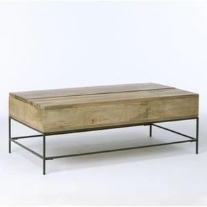 Konferenční stolek z masivního mangového dřeva Massive Home Jenny, 90 x 40 cm
