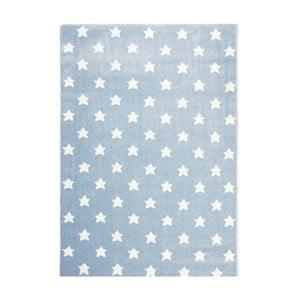 Modrý dětský koberec Happy Rugs Stardust, 80x150cm