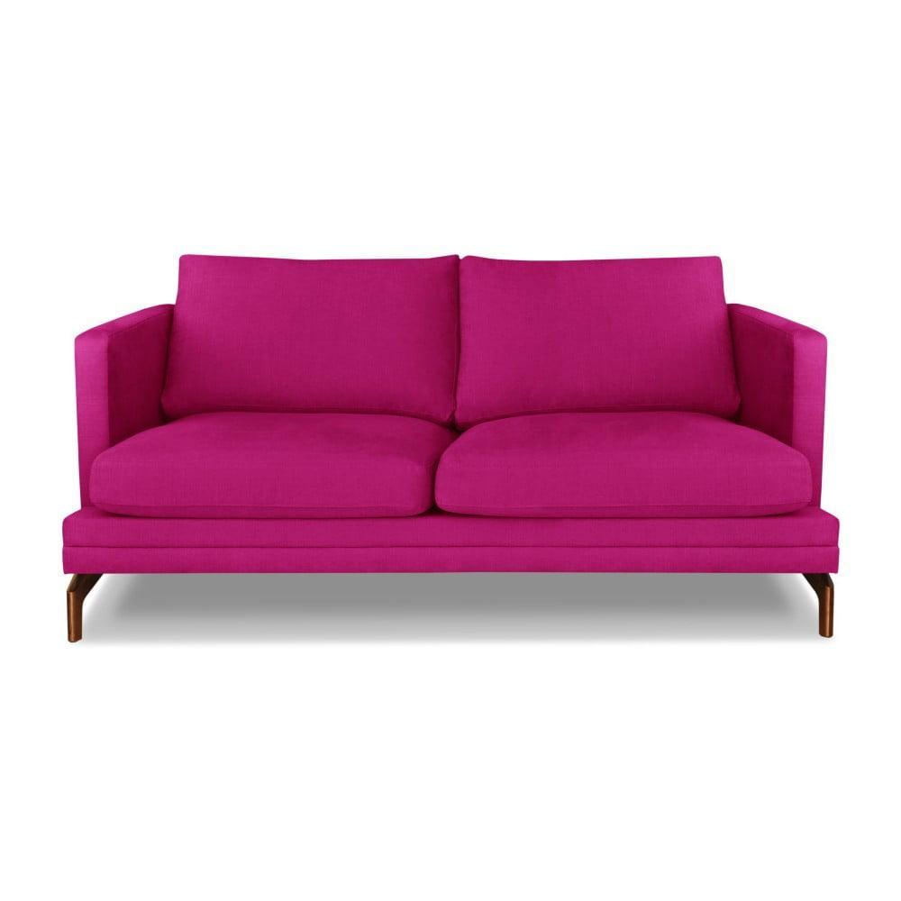 Růžová dvojmístná pohovka Windsor & Co. Sofas Jupiter