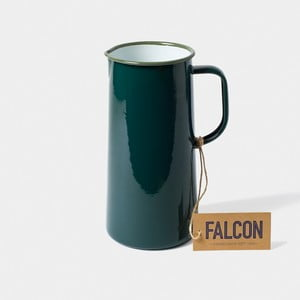 Tmavě zelený smaltovaný džbán Falcon Enamelware TriplePint, 1,704 l
