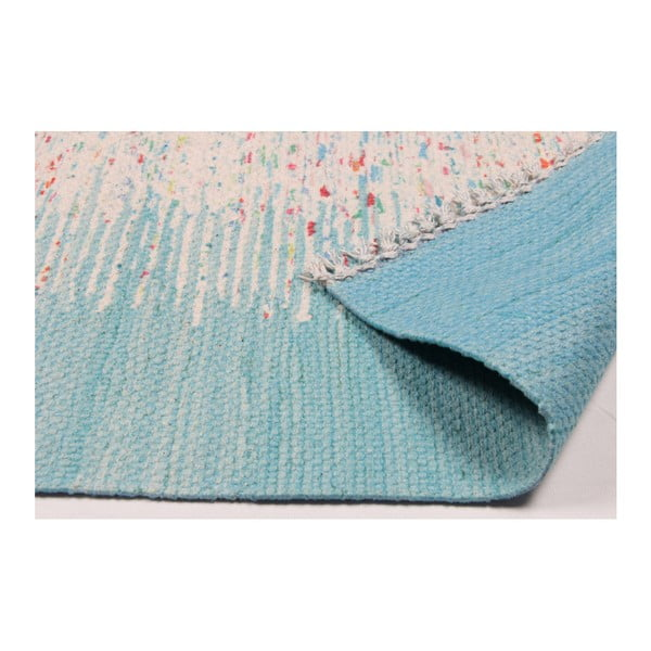 Modrý koberec Eco Rugs Akvile, 80x150cm