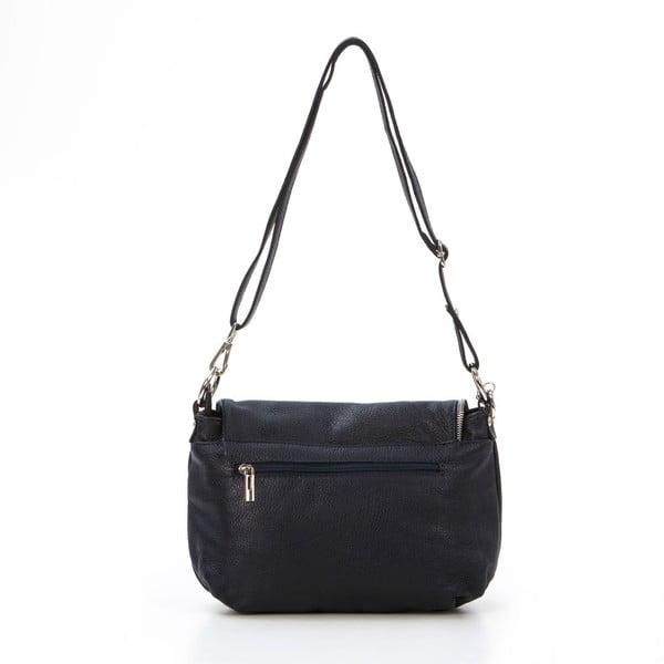Kožená kabelka Paolo, tmavě modrá