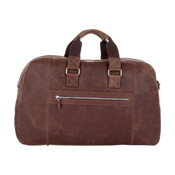 Pánská cestovní taška Vintage Overnight Brown