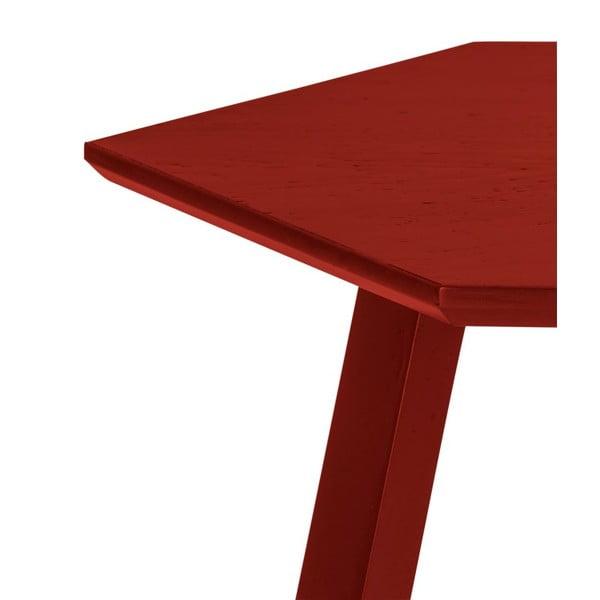 Konferenční stolek Hexagon Red, 70x37x70 cm