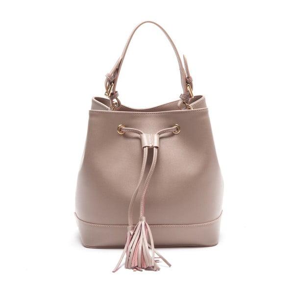 Kožená kabelka Renata Corsi 430 Rosa
