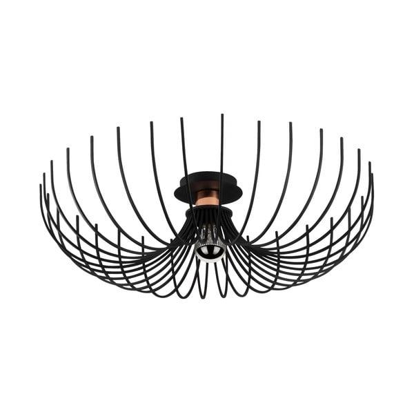 Aspendos fekete mennyezeti lámpa, ø 56 cm - Opviq lights