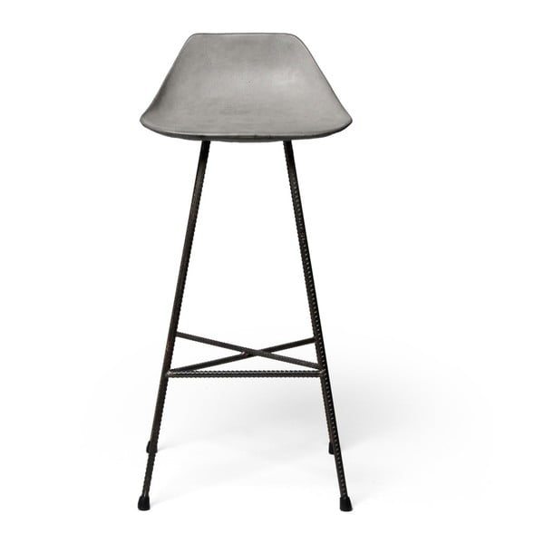 Betonová barová židlička Lyon Béton Hauteville