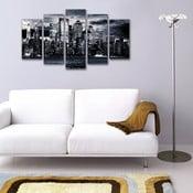 5dílný obraz Skyline
