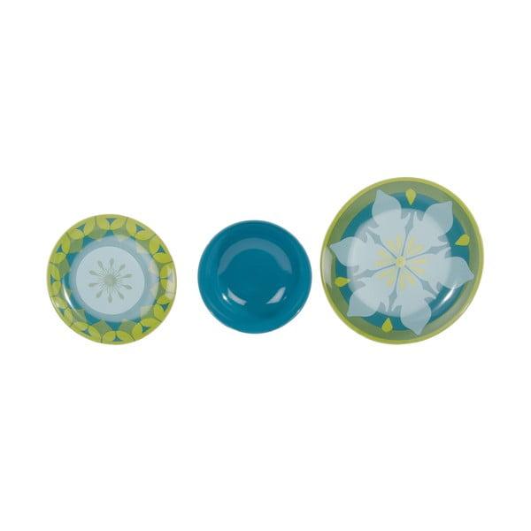 Sada 18 porcelánových talířů Camelot