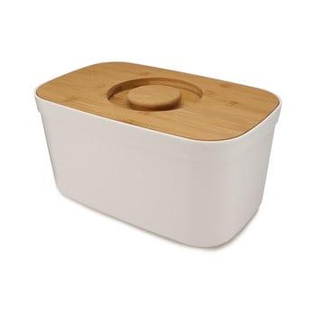 Cutie pentru pâine cu capac din lemn Joseph Joseph Bin, alb de la Joseph Joseph