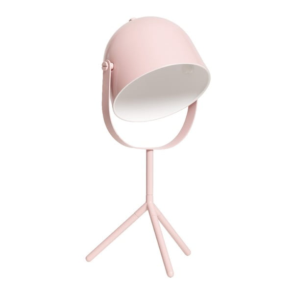 Różowa lampa stołowa Flexa Monty