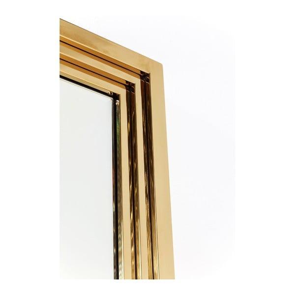 Stojací zrcadlo Kare Design Gold Rush, 220x86cm