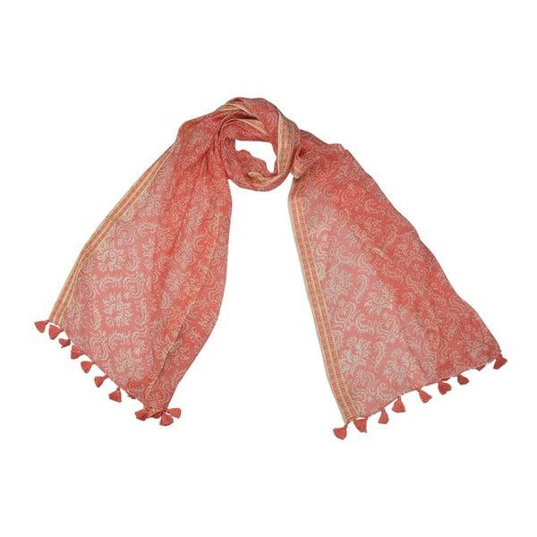 Šátek s příměsí hedvábí Shirin Sehan - Lucie