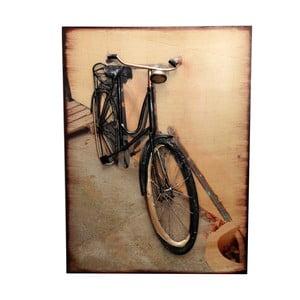 Kovová cedule Bicycle Headlight