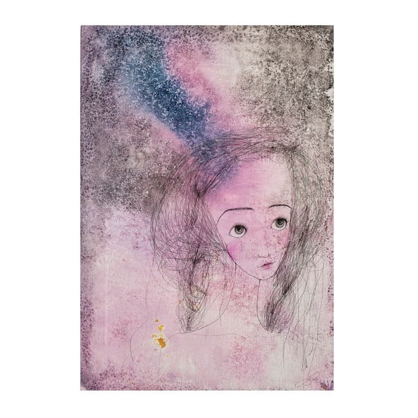 Autorský plakát od Lény Brauner Líba, 43x60 cm