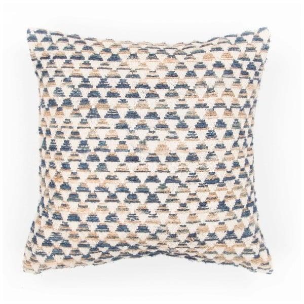 Față de pernă cu model Tiseco Home Studio Pyramide, 45x45cm, albastru