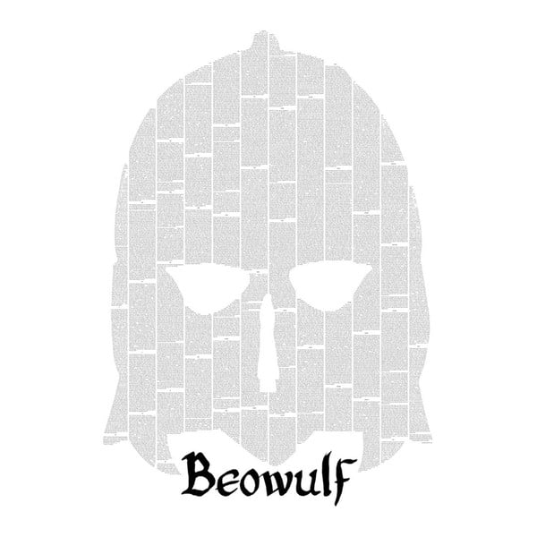 Knižní plakát Beowulf, 50x70 cm