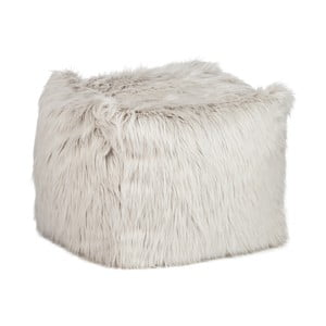 Sedací pytel Jolipa Bean Bag Fur Light Grey