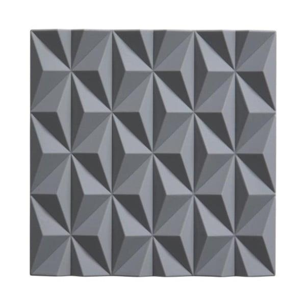 Origami Beak szürke szilikon edényalátét - Zone