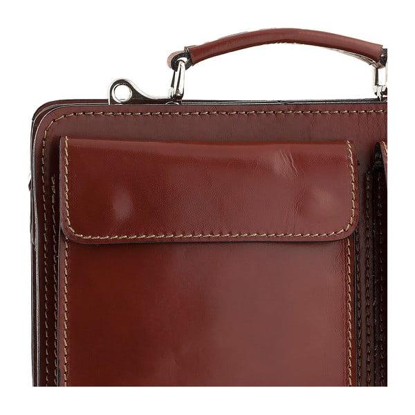 Kožená taška Ore Diece Perugia, hnědá