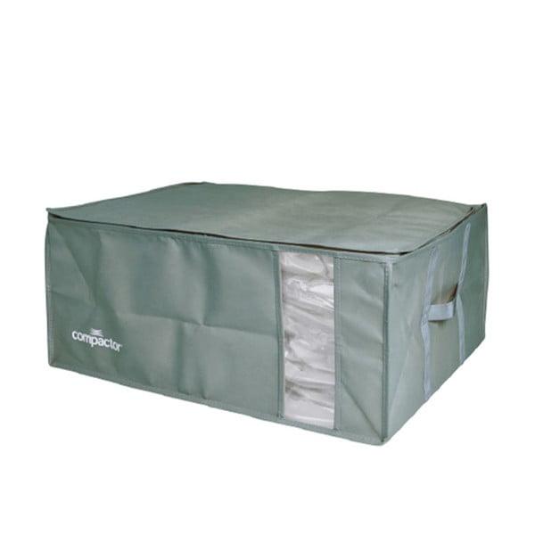 Zelený úložný box na oblečení Compactor XXL Green Edition 3D Vacuum Bag, 210 l