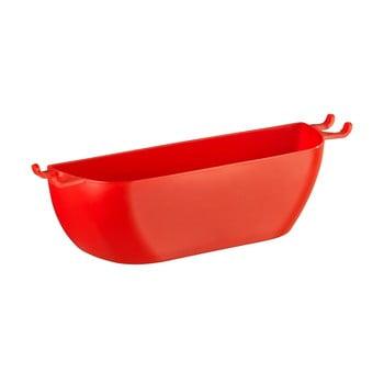 Coșuleț de perete Wenko Turbo-Loc Brasil Red, roșu de la Wenko