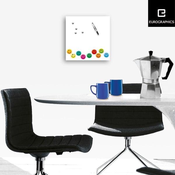 Magnetická tabule Eurographics Smiley, 50x50cm