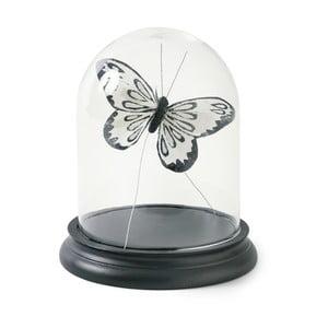 Poklop s černým dřevěným podnosem Miss Étoile Bell, výška 18 cm