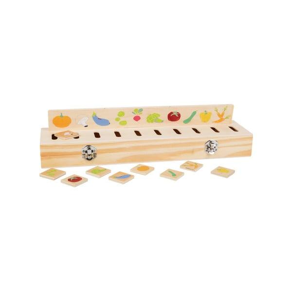 Detská drevená edukatívna hra Legler Picture
