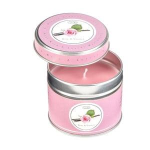 Lumânare parfumată în cutie Copenhagen Candles Rose & Vanilla, 32 ore