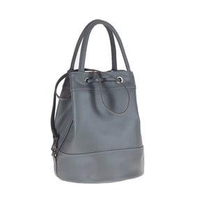 Šedá kožená kabelka / batoh Tina Panicucci Carmit