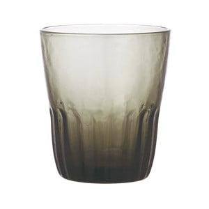 Šedá sklenice Kinto Dew, 200ml