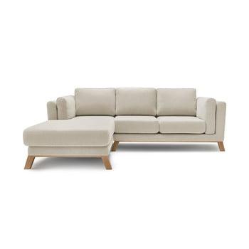 Canapea cu șezlong pe partea stângă Bobochic Paris Seattle, bej imagine