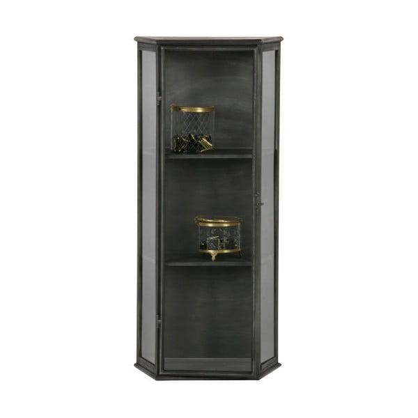 Černá kovová vitrína De Eekhoorn Trophy
