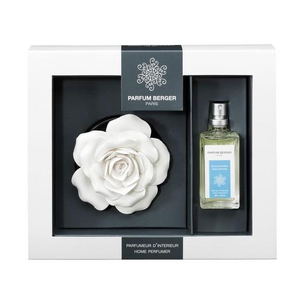 Keramická růže  se sprejem Mýdlové bublinky, 30 ml