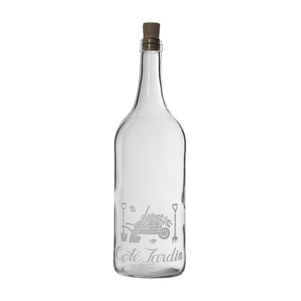 Skleněná lahev Cote Jardin, 1 l