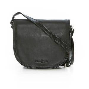 Černá kožená kabelka Gianni Conti Patricia