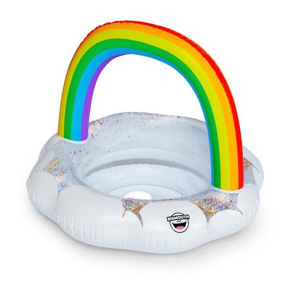 Nafukovací kruh pro děti ve tvaru duhy Big Mouth Inc.